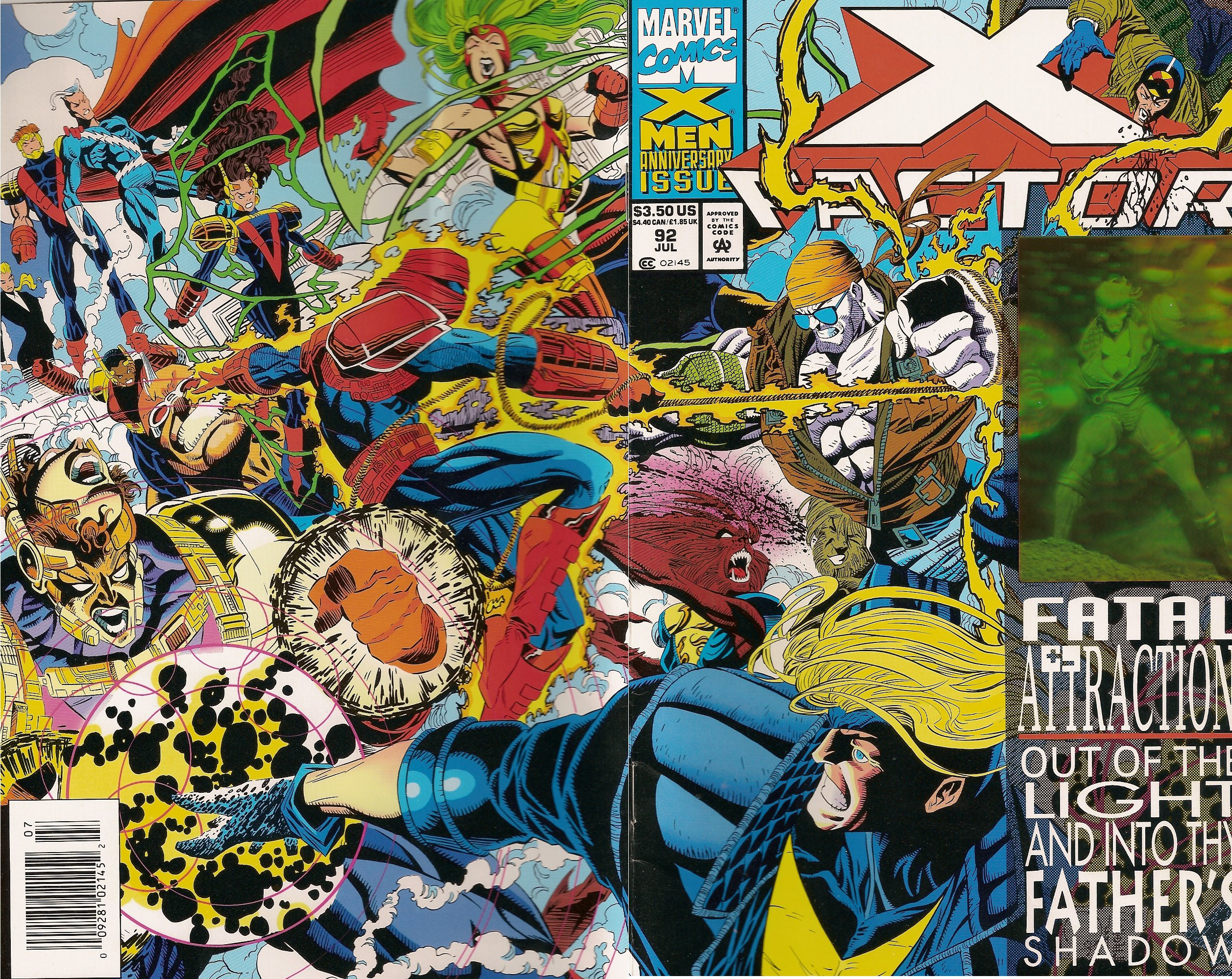 peter david x factor vol 1 92 wraparound Marvel Expanding Universe Wall Chart. David Brothers over at the 4thletter! ...