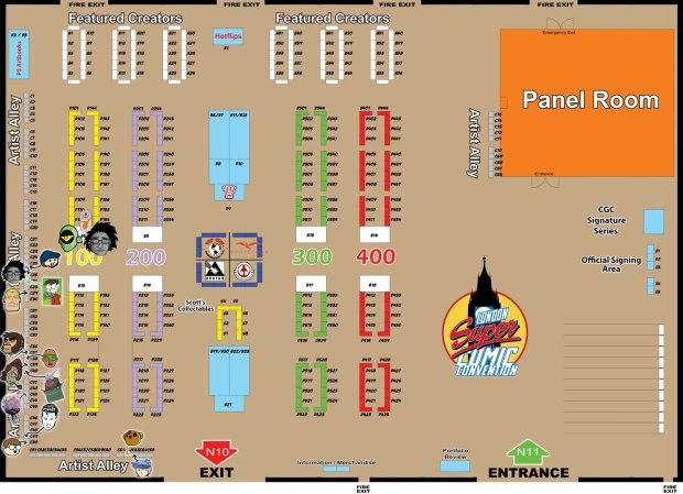 LSCC floor plan 2013