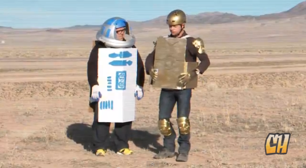 Pegg and Frost Star Wars