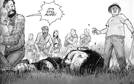 Kirkman Walking Dead Headless Dead