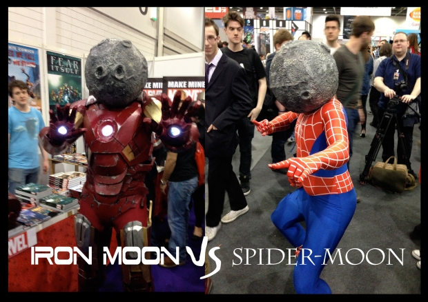 IRON MOON vs Spider-Moon