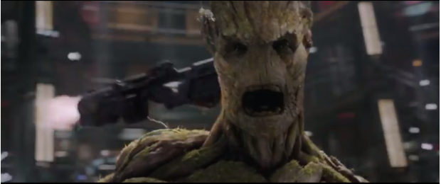 'I AM GROOT!': Not seeing the wood for the gunfire
